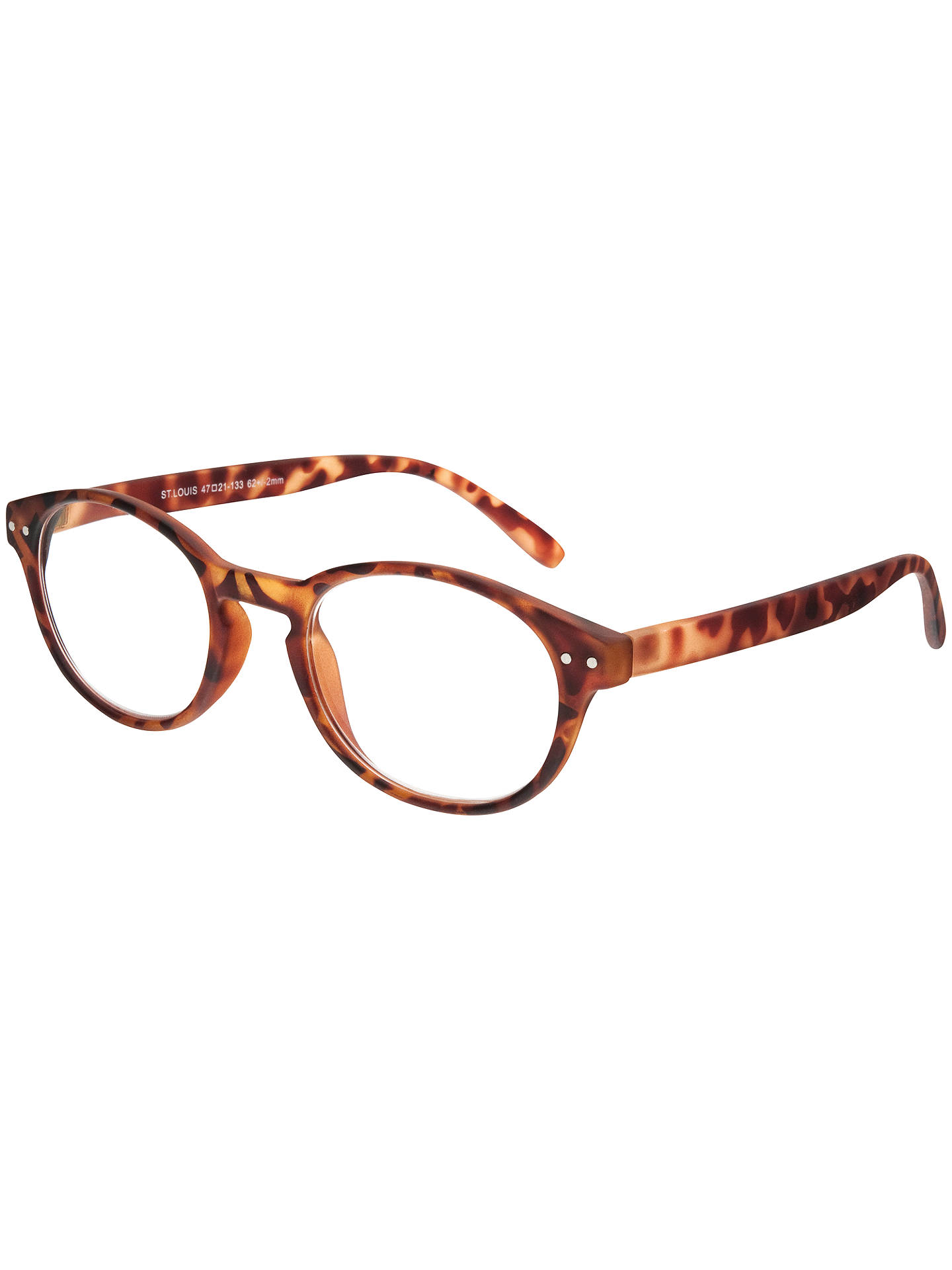 BuyMagnif Eyes Ready Readers St Louis Glasses, Tortoise, 1.5 Online at johnlewis.com