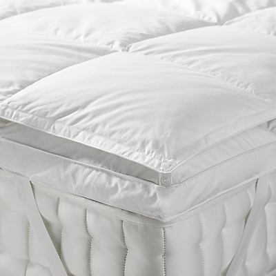 John Lewis Natural Goose Down Mattress Topper
