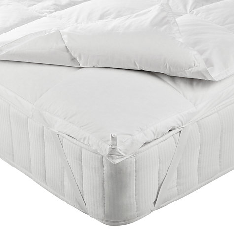 buy john lewis goose down mattress topper online at