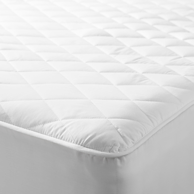 John Lewis Micro-Fresh Waterproof Quilted Mattress Protector