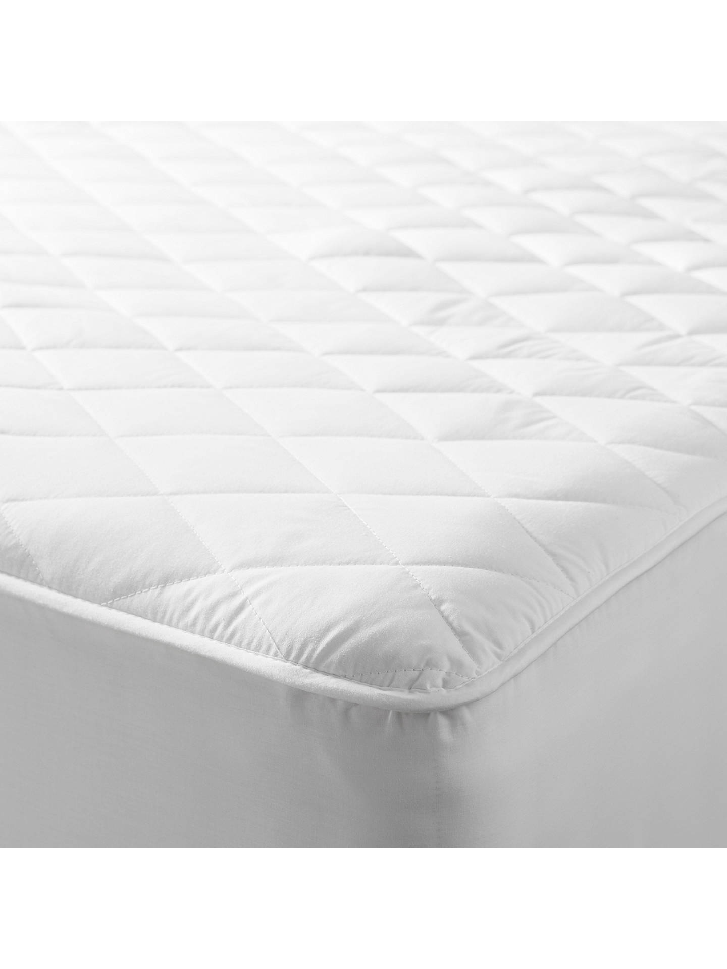 Buy John Lewis & Partners Specialist Synthetic Waterproof Quilted Mattress Protector, Double Online at johnlewis.com