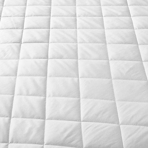 John Lewis Micro Fresh Waterproof Quilted Mattress Protector Online At Johnlewis