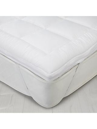 John Lewis & Partners Synthetic Dual Layer 6cm Mattress Topper
