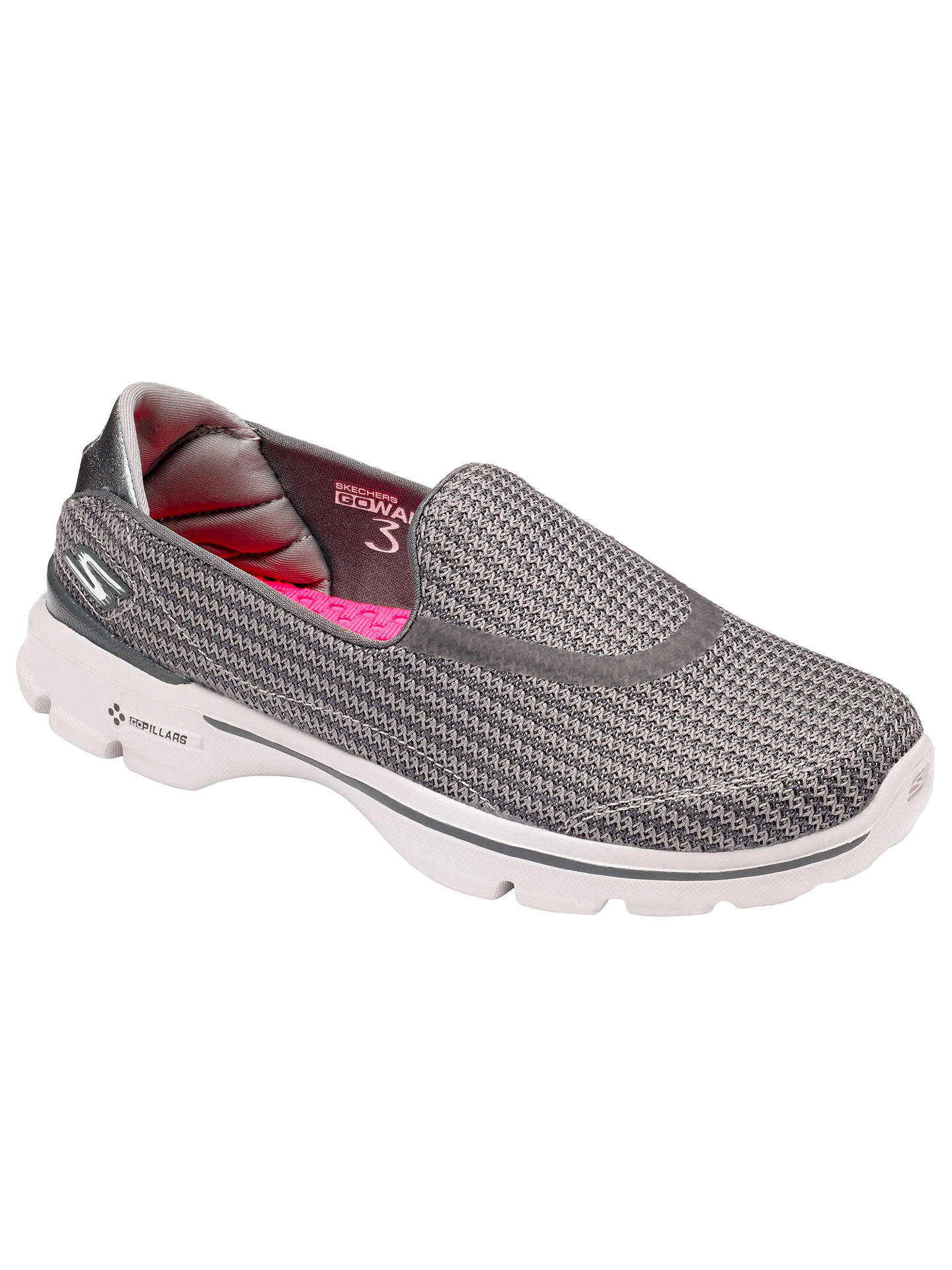 e06db6bbd4de8 Skechers GOwalk 3 Slip On Trainers at John Lewis   Partners