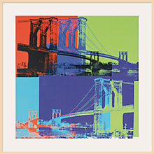 Buy Warhol - Blue/Lime Brooklyn 1983 Online at johnlewis.com