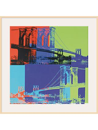 Warhol - Blue/Lime Brooklyn 1983