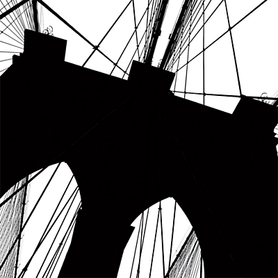 Erin Clark – Brooklyn Bridge Silhouette