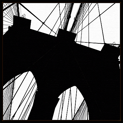 Erin Clark – Brooklyn Bridge Silhouette