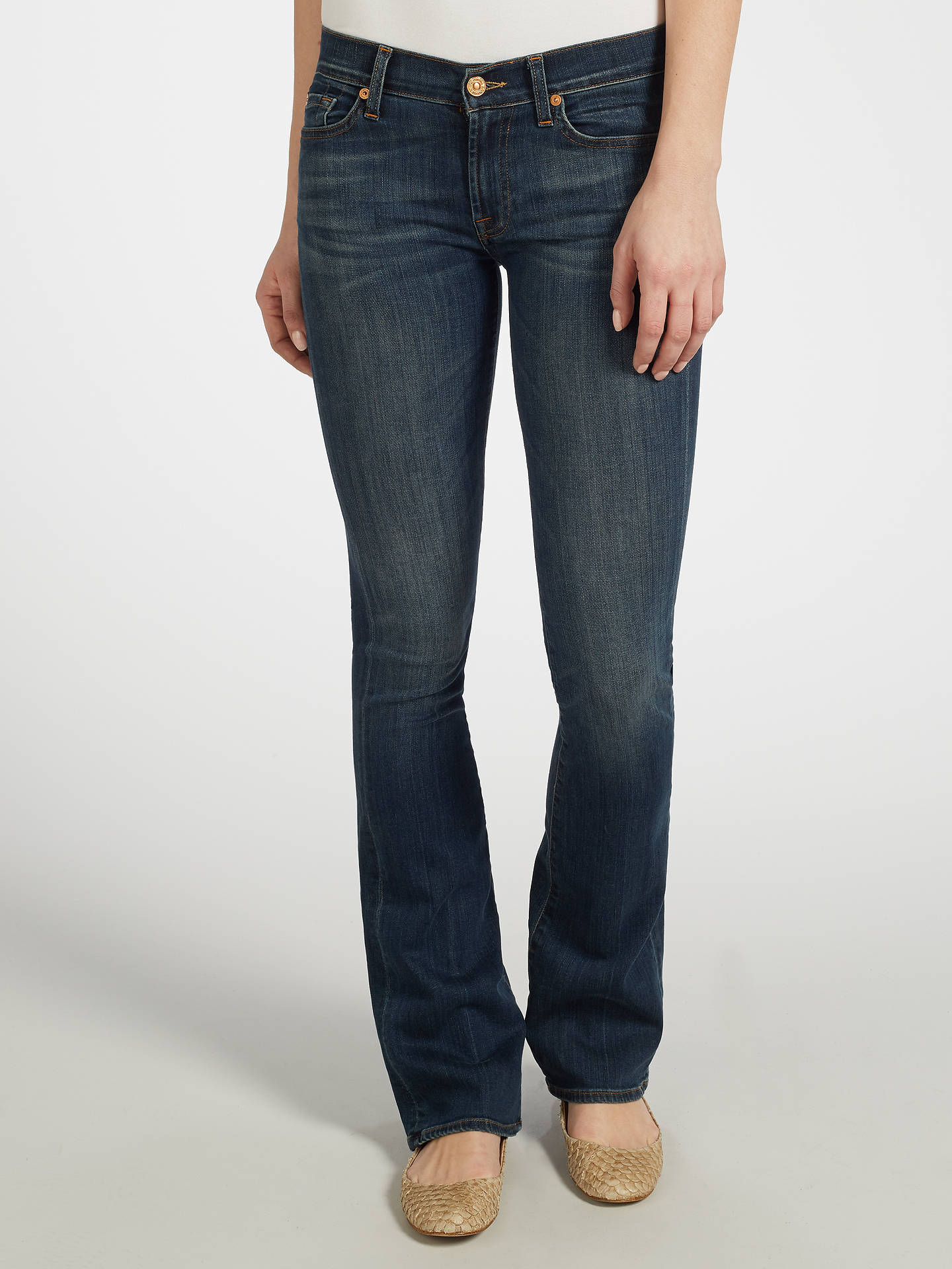 b1ee598430f3 Buy 7 For All Mankind Mid-Rise Bootcut Jeans
