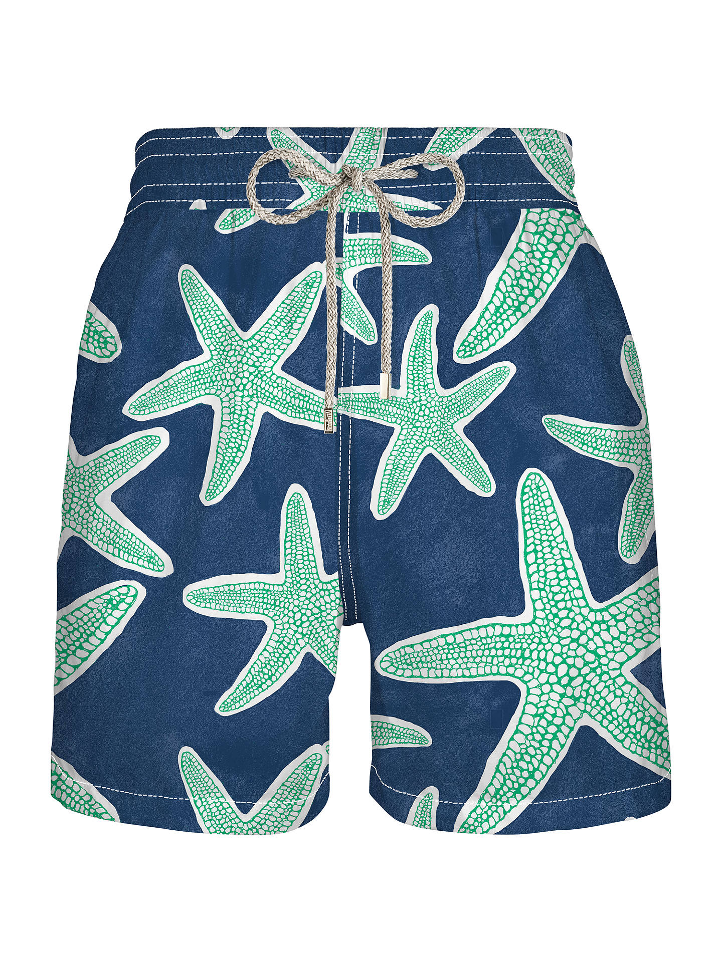 2d8f2897b6 Buy Vilebrequin Moorea Starfish Print Swim Shorts, Navy/Green, M Online at  johnlewis