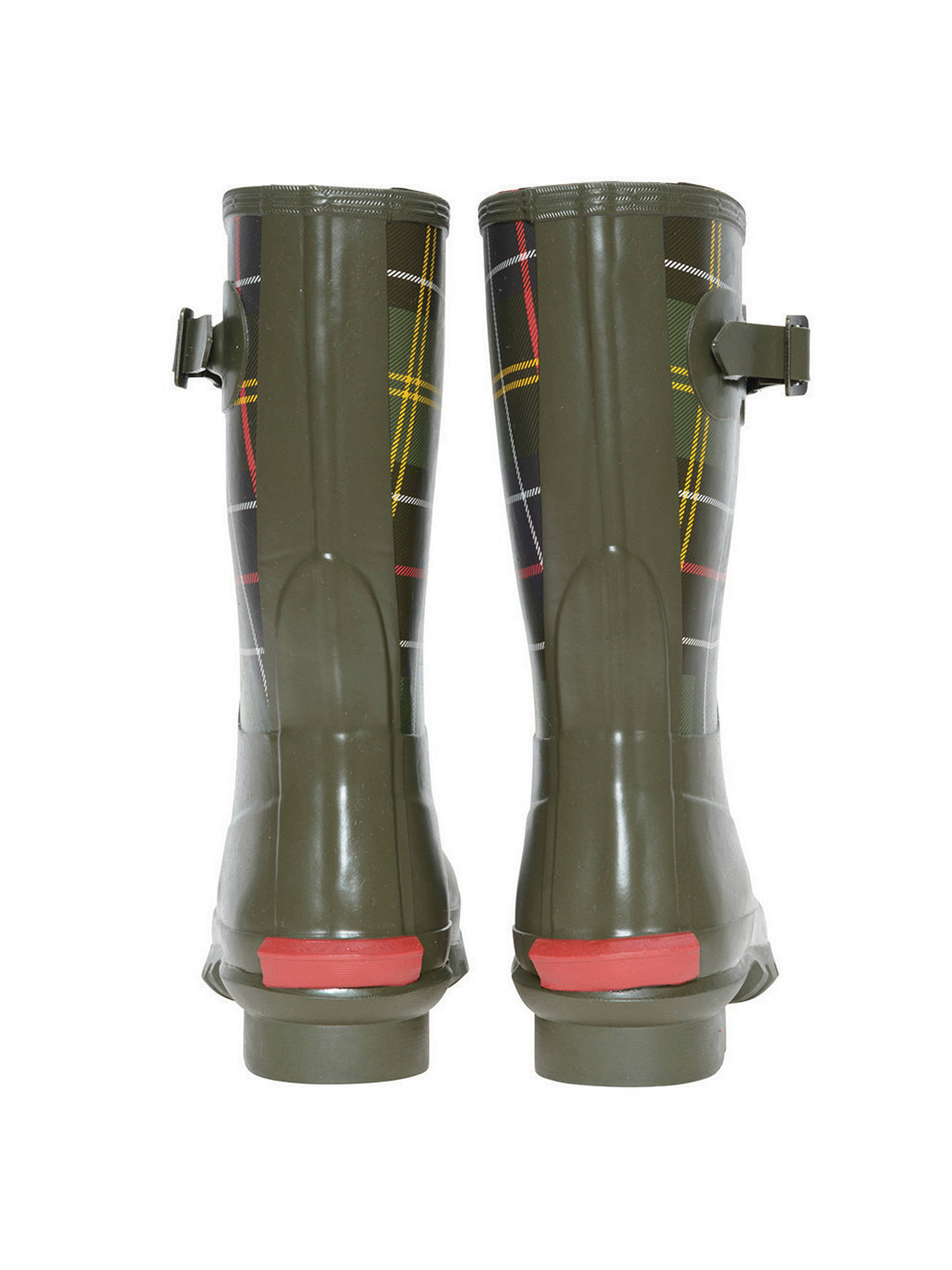 30e8687ce ... Buy Barbour Short Classic Wellington Boot, Tartan, 5 Online at  johnlewis.com