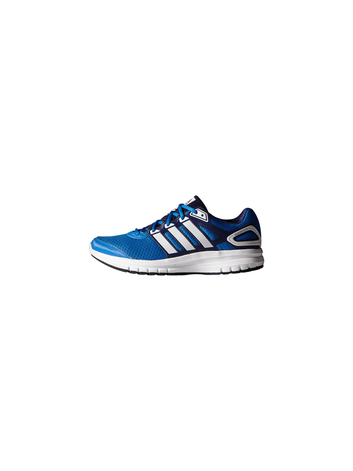 on sale fa768 ffa0d BuyAdidas Duramo 6 Men s Running Shoes, Bright Royal, 11 Online at  johnlewis. ...