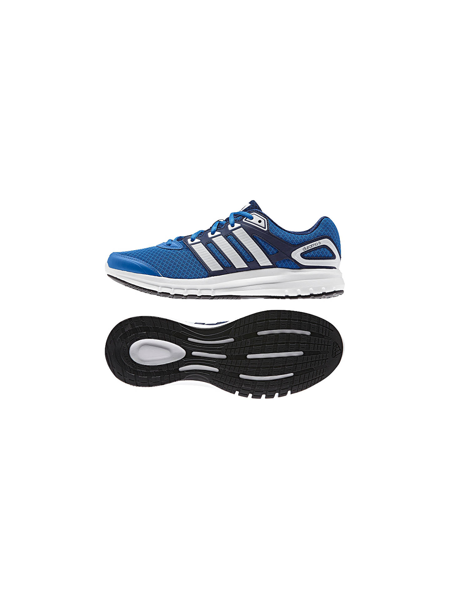 newest 4bf83 e781d ... BuyAdidas Duramo 6 Men s Running Shoes, Bright Royal, 11 Online at  johnlewis. ...