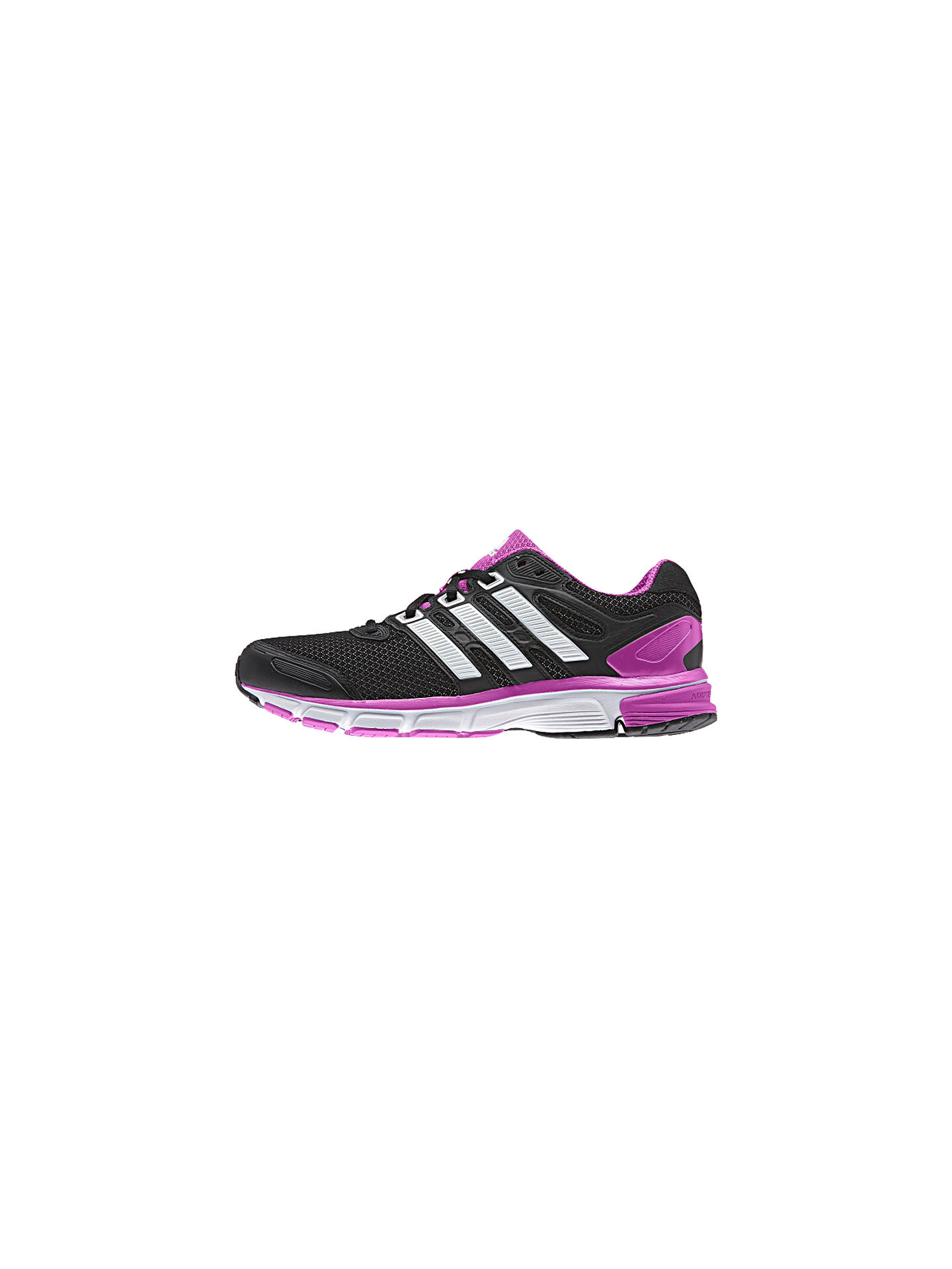 Adidas Nova Stability Women's Running Shoes, BlackPurple at