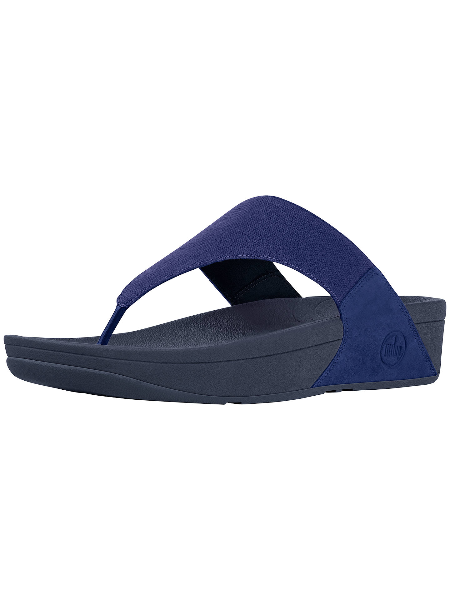 59395a0fcb9 FitFlop Lulu Canvas Sandals at John Lewis   Partners