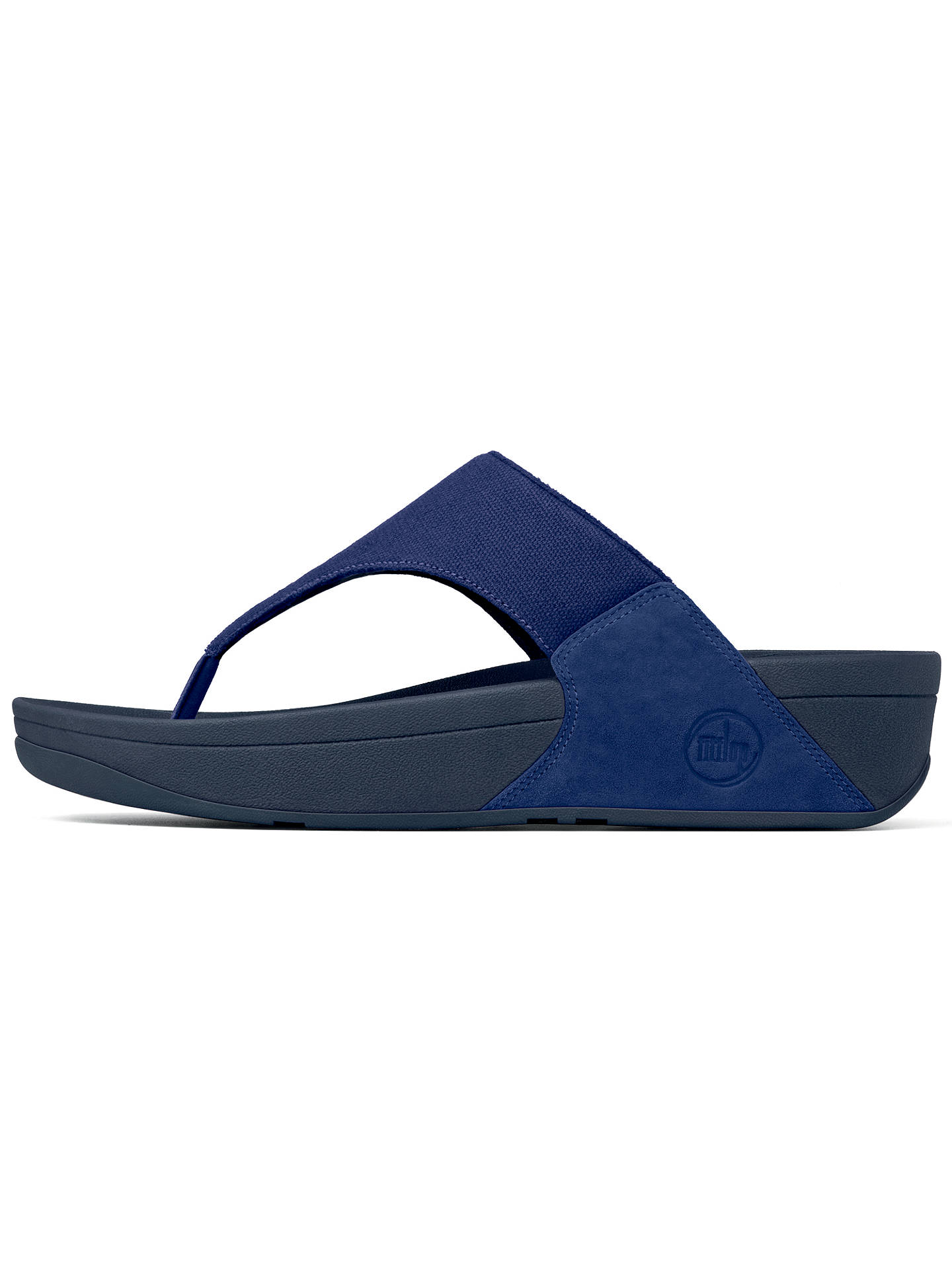 cd59d73e7 FitFlop Lulu Canvas Sandals at John Lewis   Partners