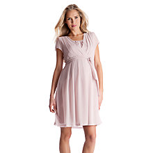 Buy Séraphine Jodie Short Sleeve Maternity/Nursing Dress, Blush Online at johnlewis.com