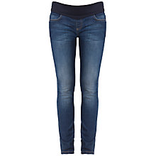 Buy Séraphine Faith Skinny Denim Maternity Jeans, Blue Online at johnlewis.com