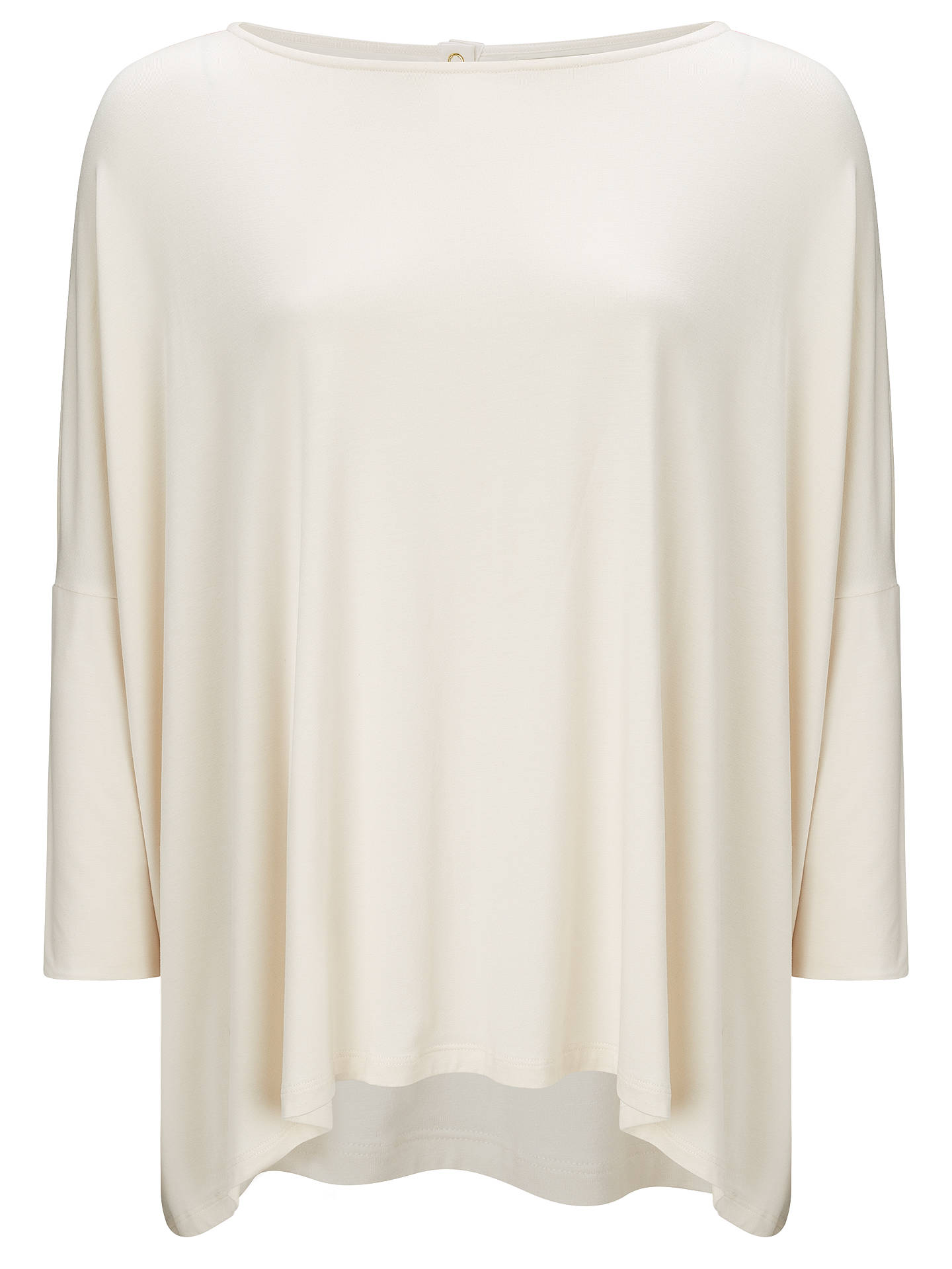 BuySomerset by Alice Temperley Oversized Top, Cream, S Online at johnlewis.com