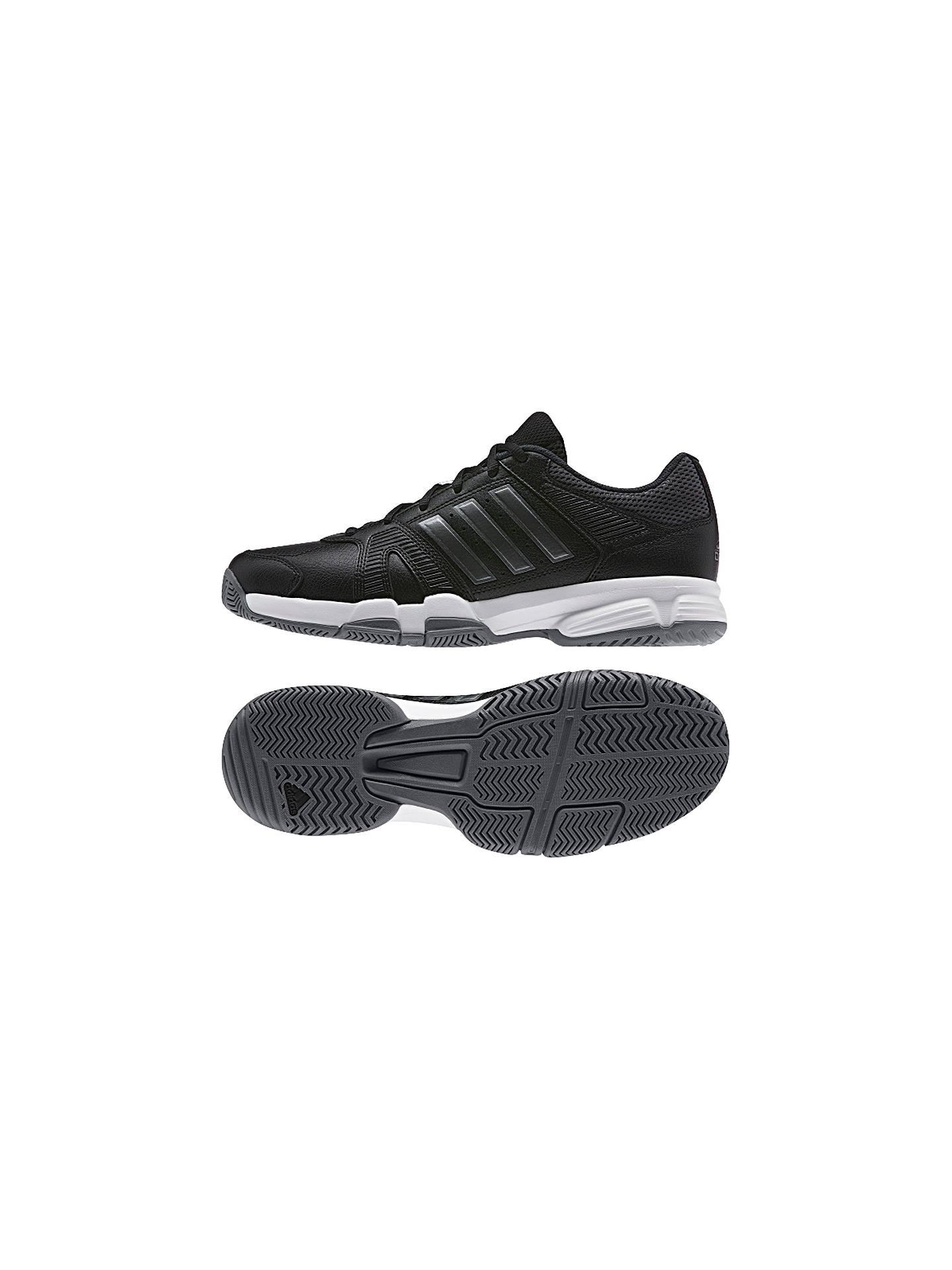 4c48c935eed62e ... Buy Adidas Barracks F10 Men's Cross Trainers, Black/Grey, 7 Online at  johnlewis ...