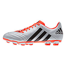 Buy Adidas Incurza TRX FG Men's Rugby Boots, Silver/Core Black Online at johnlewis.com