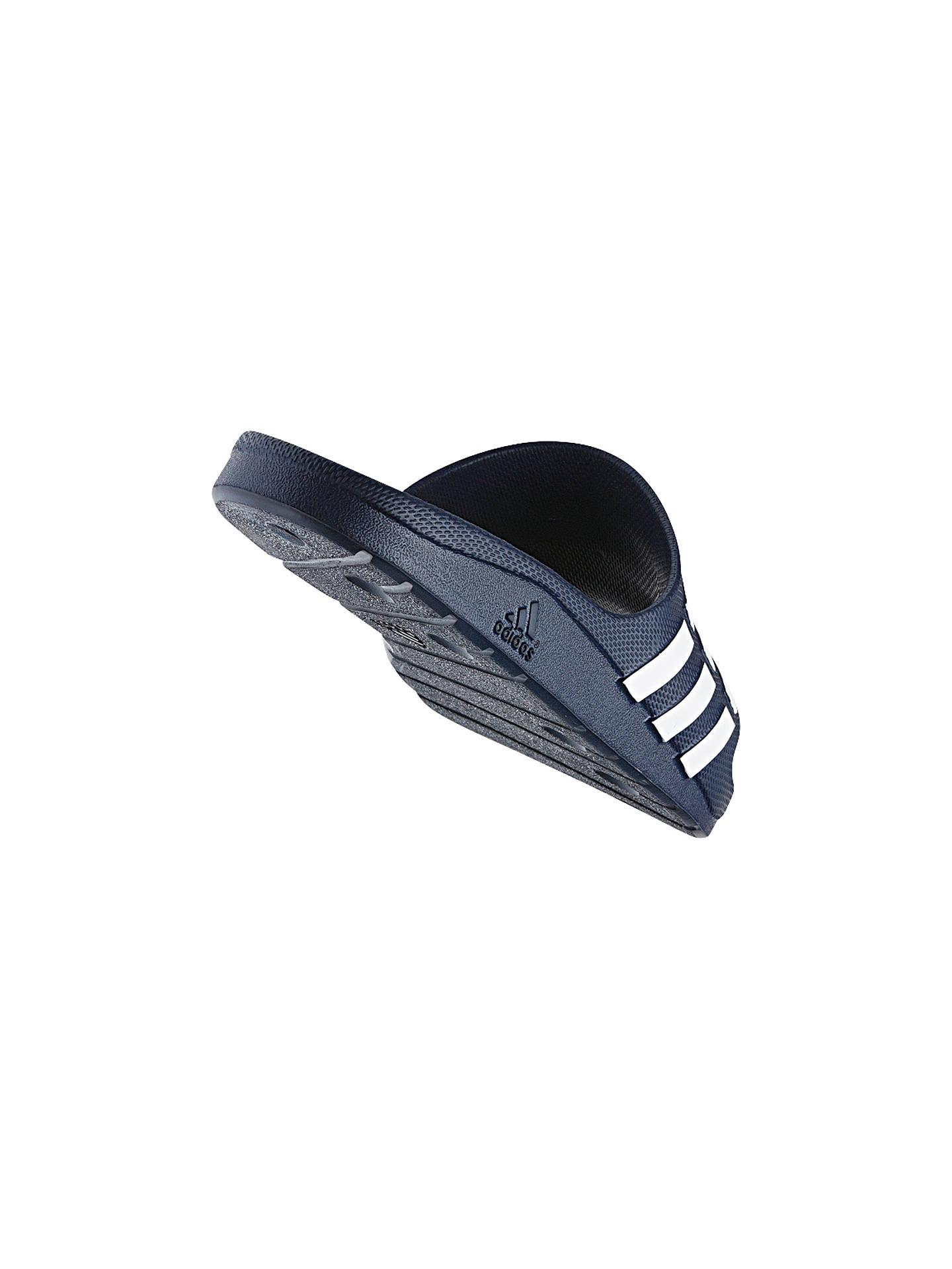 Buy adidas Duramo Women's Pool Slides, Blue, 7 Online at johnlewis.com