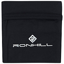 Buy Ronhill Running Stretch Wrist Pocket, Black Online at johnlewis.com