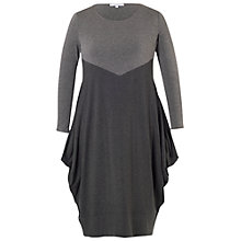 Buy Chesca Marl Jersey Dress, Grey Online at johnlewis.com