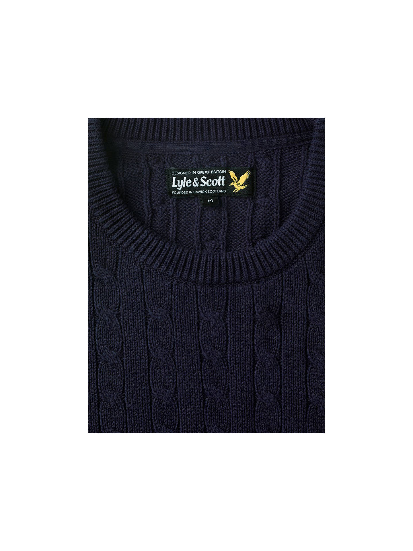 Lyle and /& Scott mens wool gloves navy blue /& electric blue eagle NEW winter