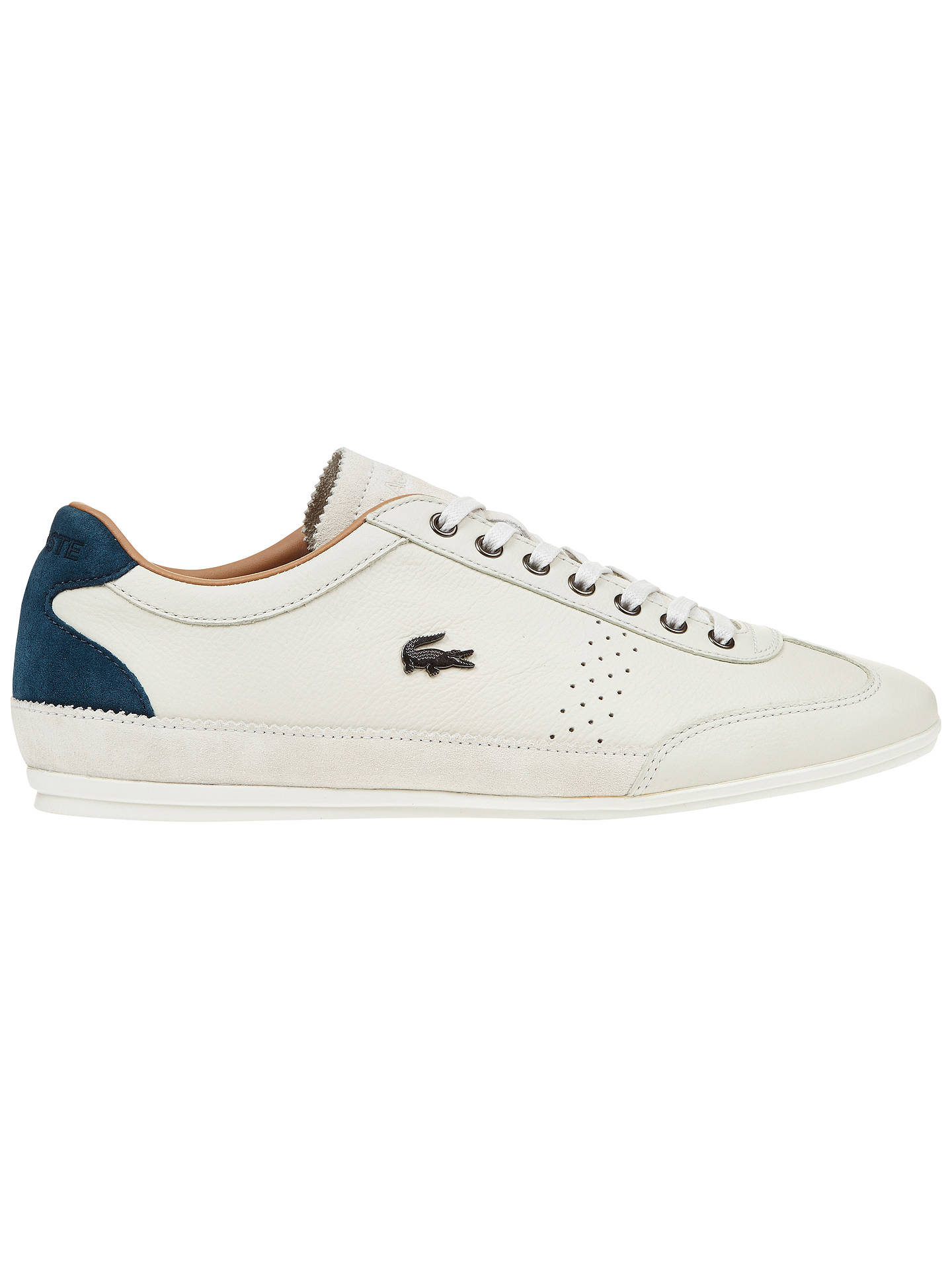 a91bfc206 Buy Lacoste Misano 34 Leather Trainers