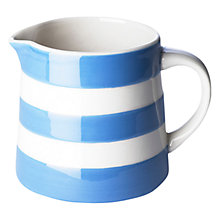 Buy Cornishware Jug, Blue/White, Seconds Online at johnlewis.com