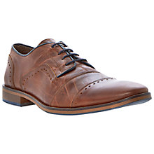 Buy Dune Boycy Leather Lace-up Shoes, Tan Online at johnlewis.com