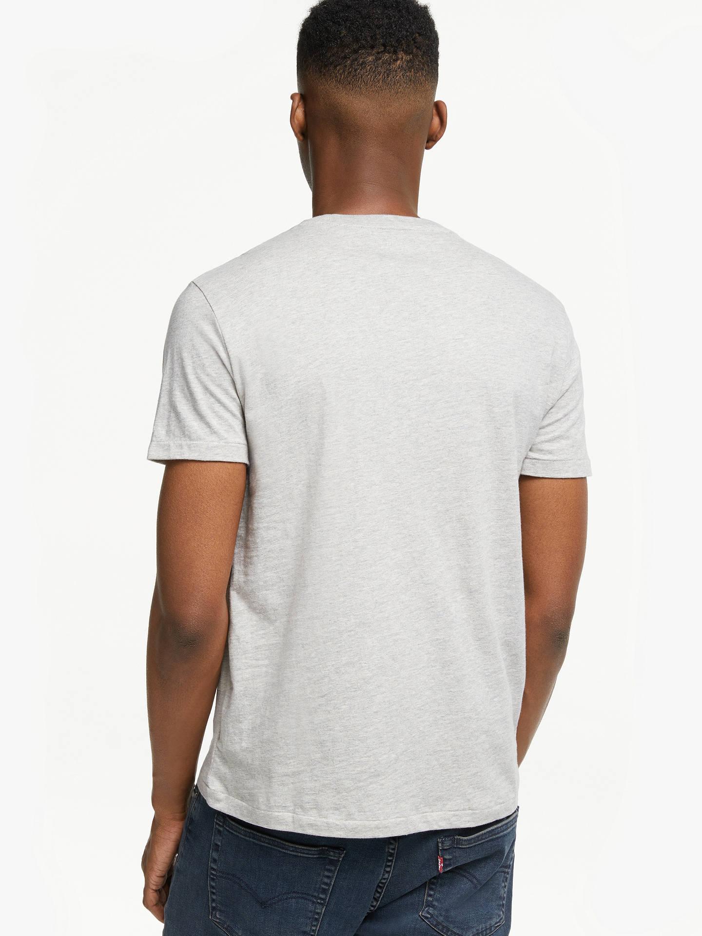 bb7fdf38f ... Buy Polo Ralph Lauren Short Sleeve Custom Fit Crew Neck T-Shirt, New  Heather ...