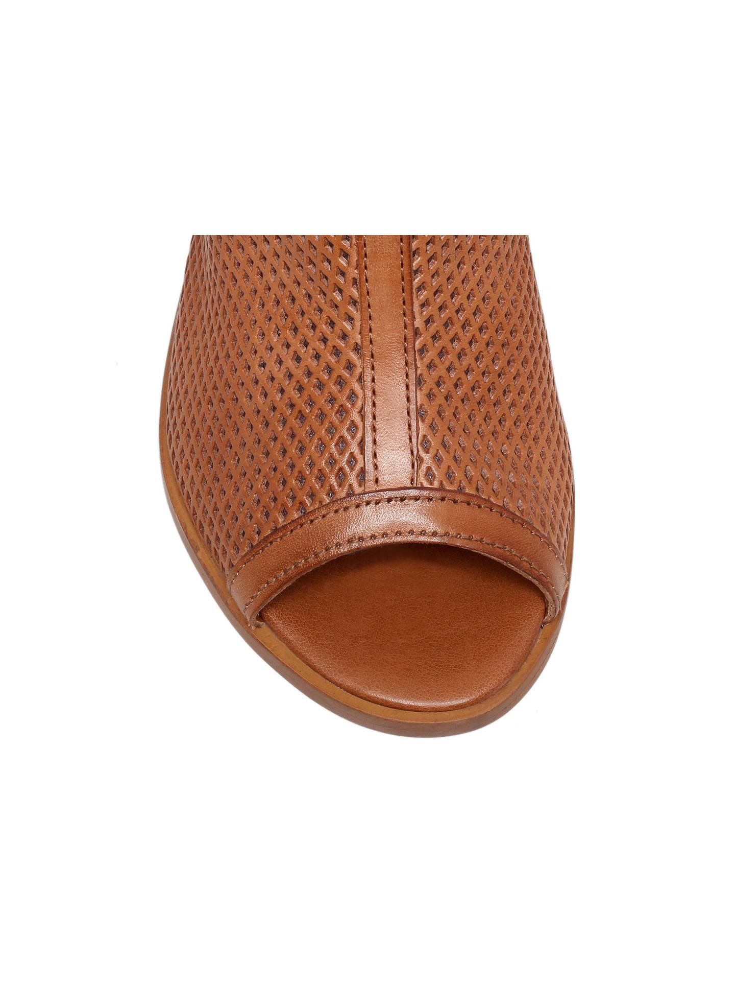 eb7e4a35180 Carvela Audrey Cut-Out Shoe Boots, Tan at John Lewis & Partners