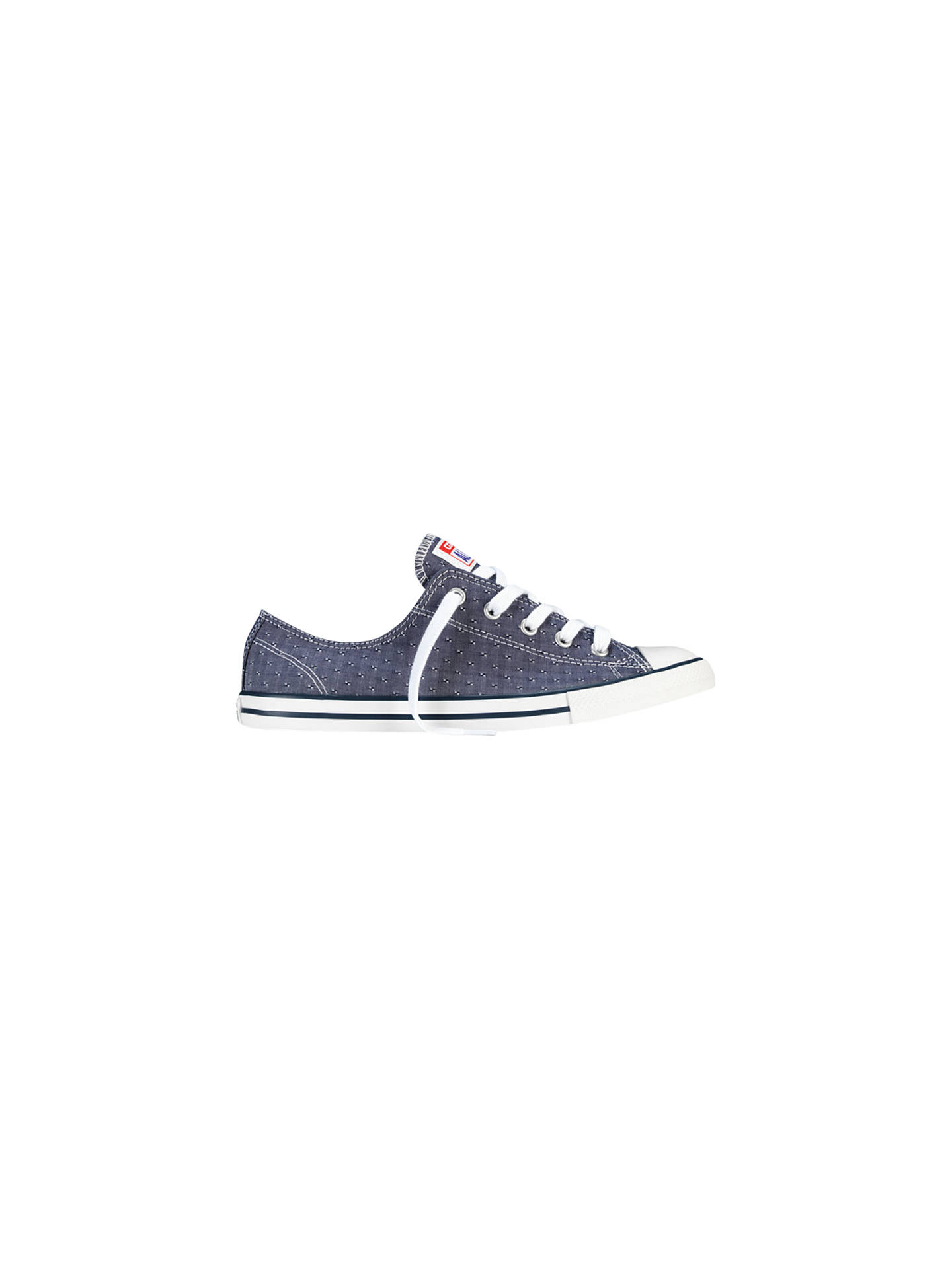 Converse Chuck Taylor All Star Dainty Chambray Trainers at John ... 558206153