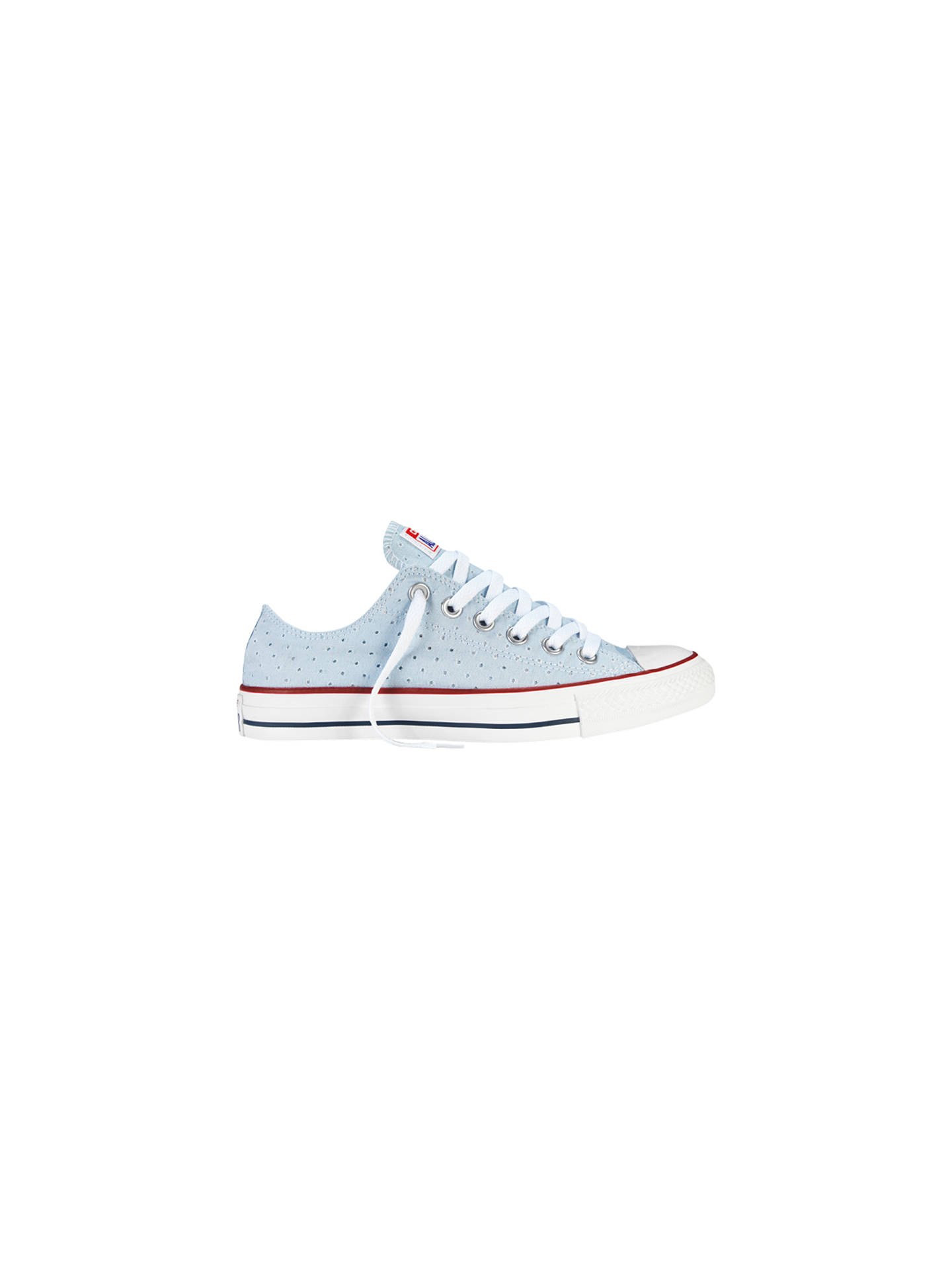 e74a71f3d75f Converse All Star Chuck Taylor Canvas Summer Ox Low-Top Trainers ...