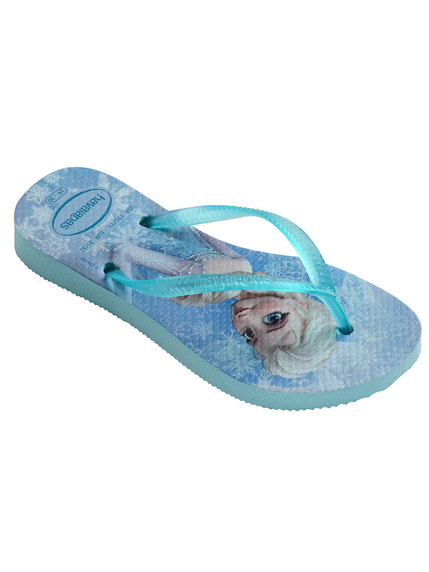 163e0809295a Buy Havaianas Slim Frozen Elsa   Olaf Flip Flops