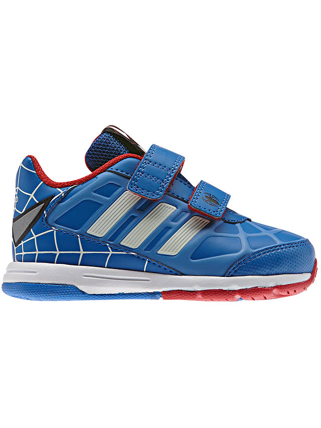 Adidas Disney Spider-Man Trainers, Blue at John Lewis & Partners