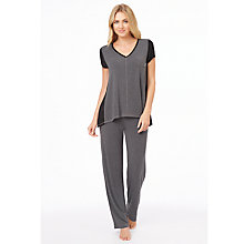 Buy DKNY Urban Essential Short Sleeve Pyjama Top Online at johnlewis.com