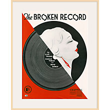 Buy Art Inspired by Music - Broken Record Online at johnlewis.com