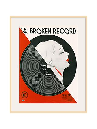 Art Inspired by Music - Broken Record