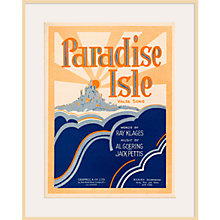 Buy Art Inspired by Music - Paradise Isle Online at johnlewis.com