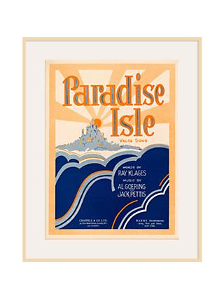 Art Inspired by Music - Paradise Isle