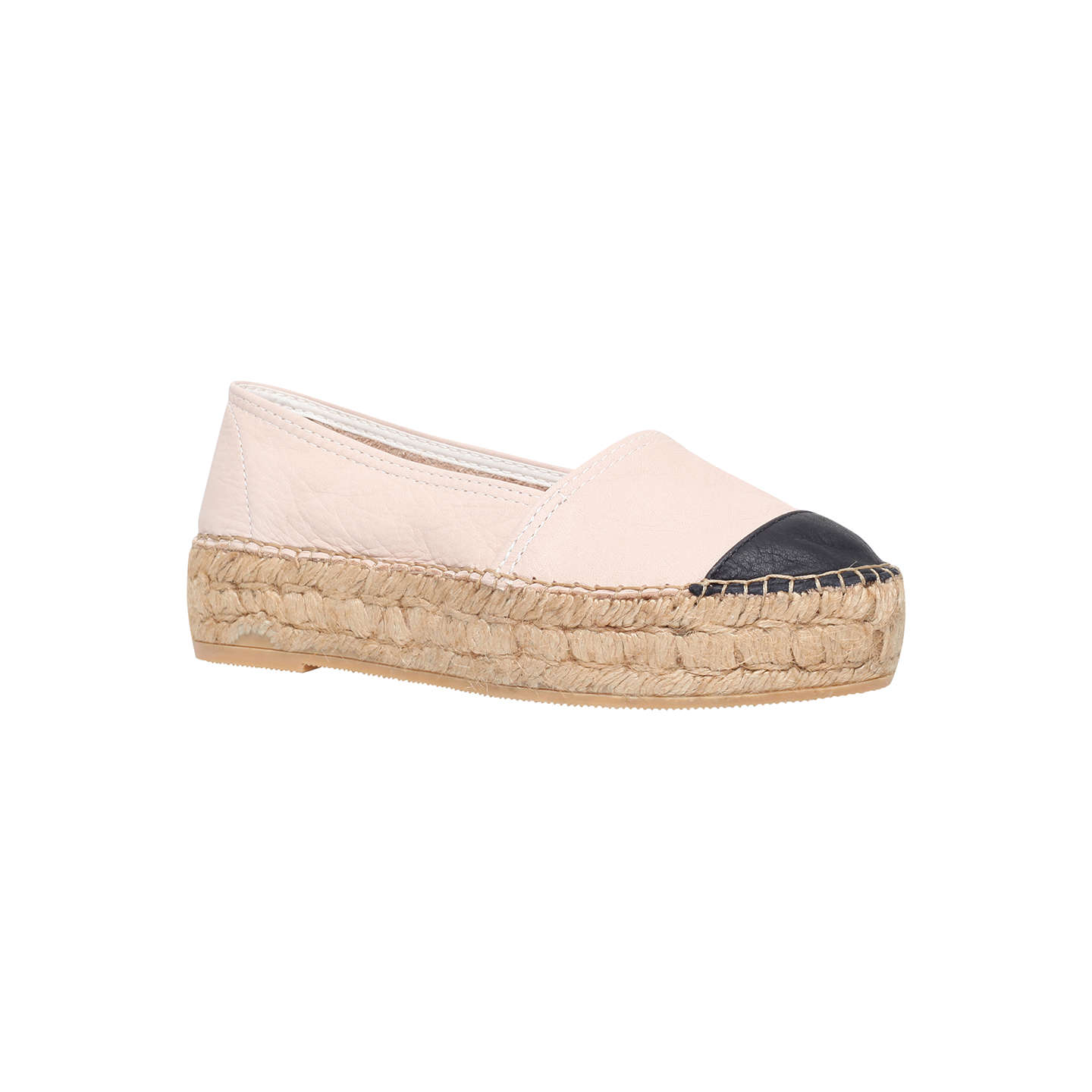 Mellow Nude Flat Slip On Shoes By KG Kurt Geiger 1b3poDQO