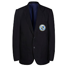 Buy St John's International School Blazer, Navy Online at johnlewis.com
