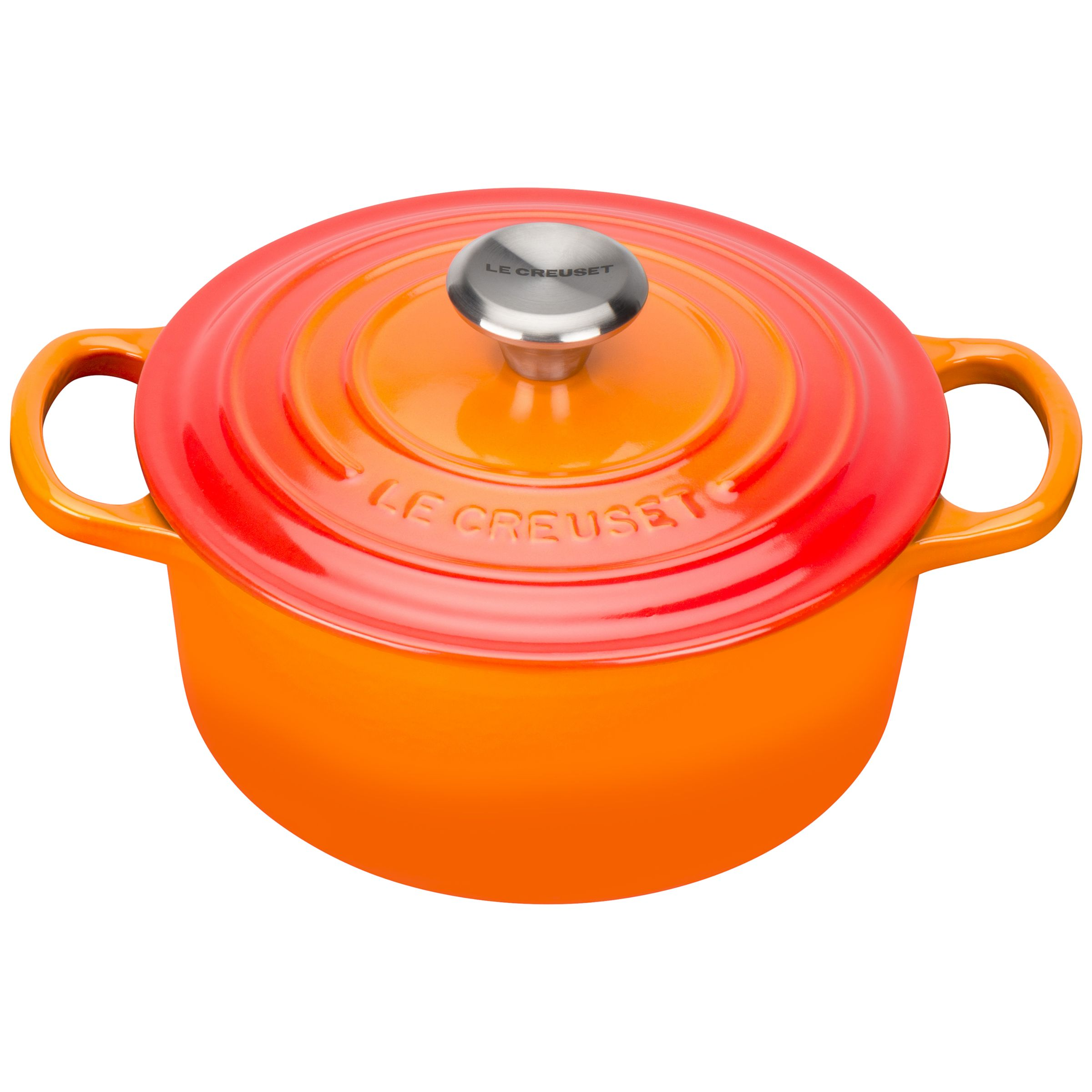 le creuset signature cast iron round casserole octer. Black Bedroom Furniture Sets. Home Design Ideas