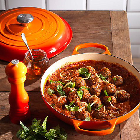 buy le creuset signature shallow cast iron casserole. Black Bedroom Furniture Sets. Home Design Ideas