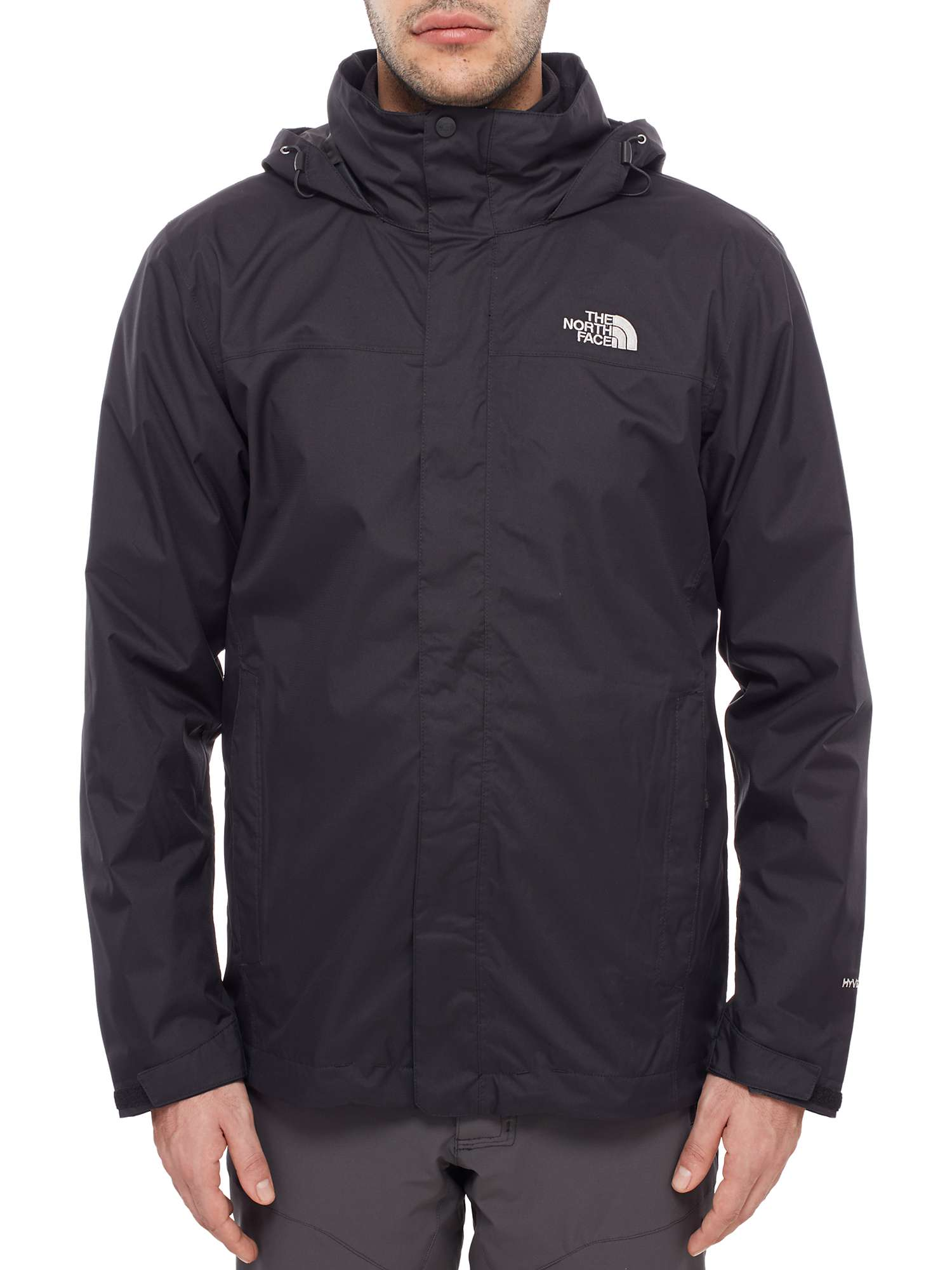 The North Face Evolve Ii Triclimate 3 In 1 Waterproof Men S Jacket Black At John Lewis Partners