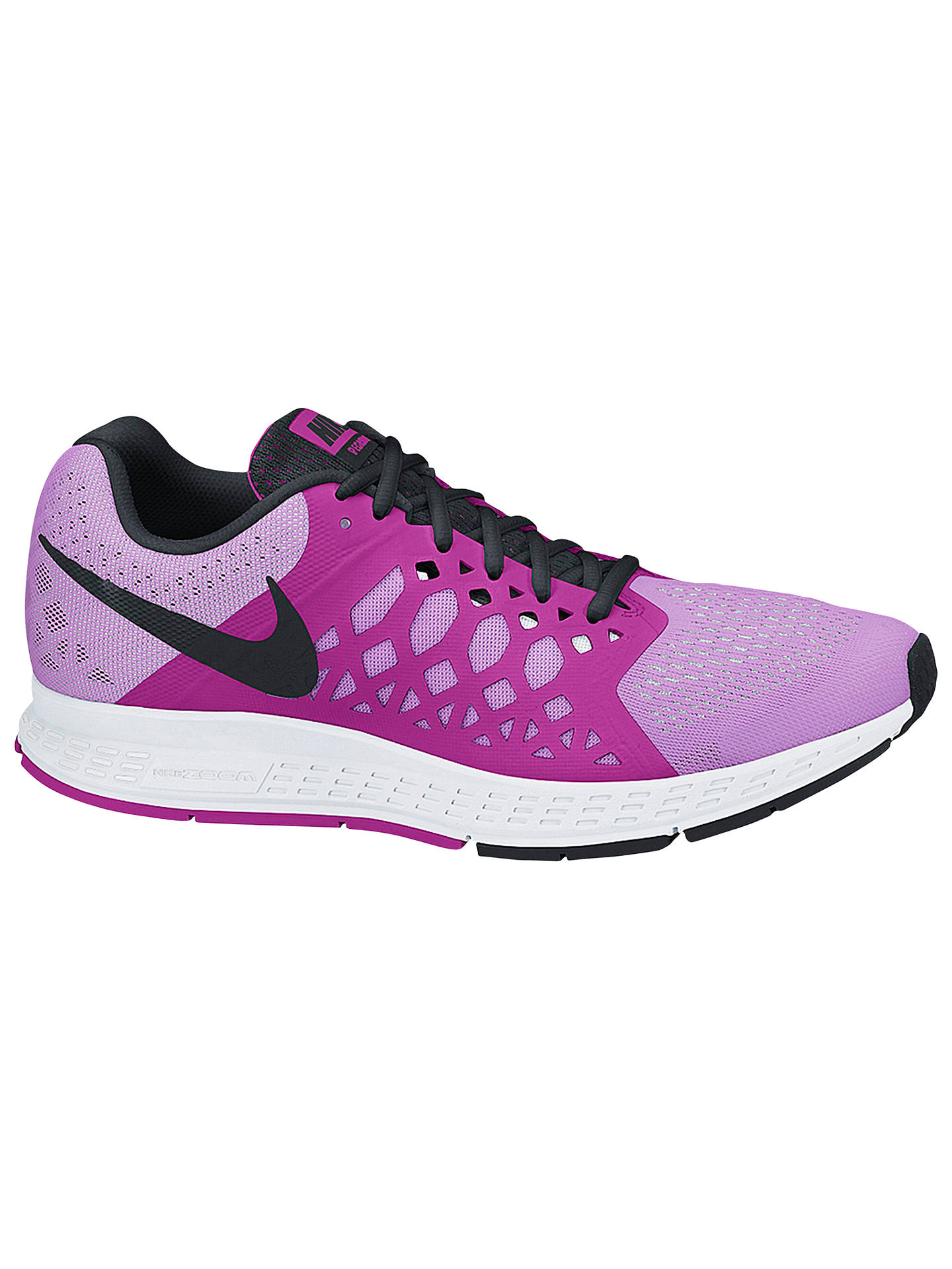 the latest f7466 fa67b Buy Nike Air Zoom Pegasus 31 Women s Running Shoes, Fuchsia Glow Black, 4  ...