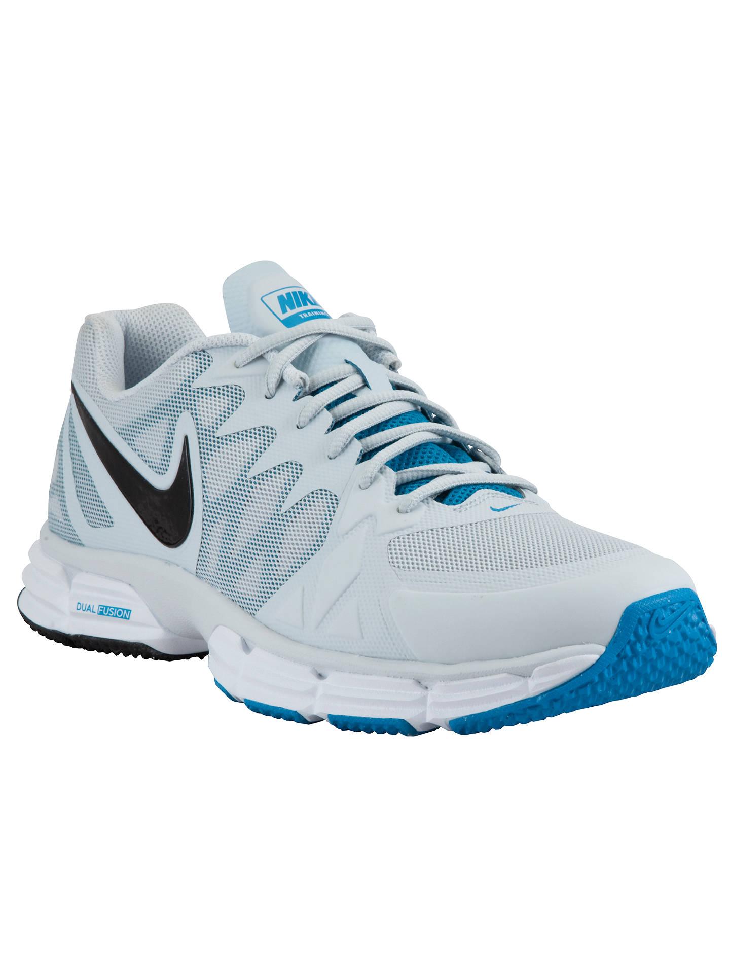 newest 7de81 353e0 Buy Nike Dual Fusion TR 6 Men s Running Shoes, Platinum Blue, 7 Online ...